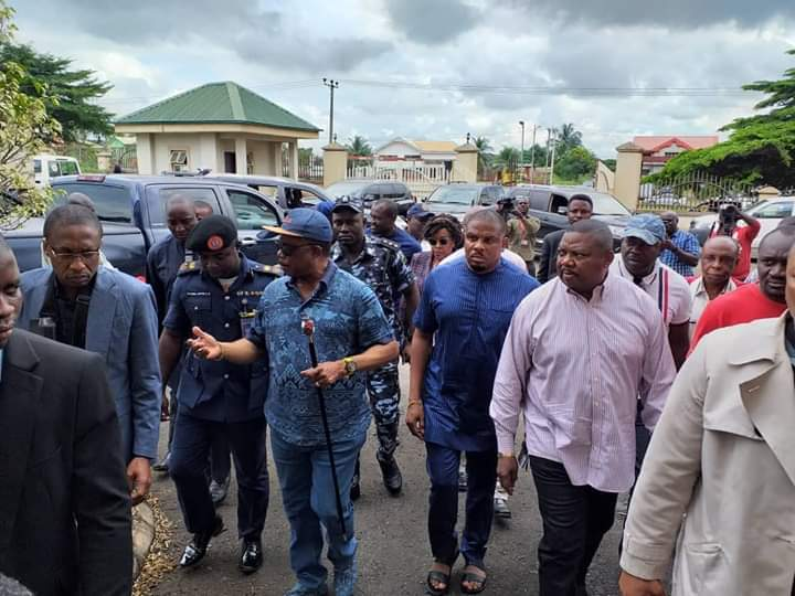 Onitsha Fire: Governor Willie Obiano Visits the Anambra State Fire Service