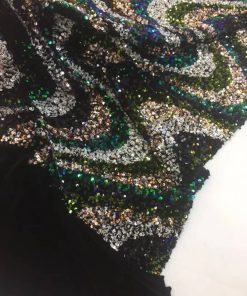 Special Multi-Layer Sequin Sample Lace