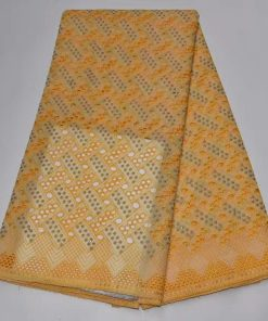 Perforated Swiss Voile Lace. 5 Yards/Lot