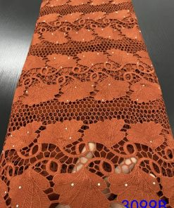 Stoned Floral Cord Lace
